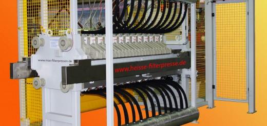 """Bild 1  Die neue """"All inklusive"""" Filter-Presse filtert und trocknet in einem Arbeitsgang. (Bild: MSE)"""