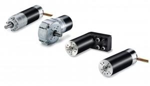 Familienbild der hochdynamischen bürstenlosen Gleichstrommotoren mit einer Leistungsspannweite von 10 bis 400 W. Bild: ebm-papst