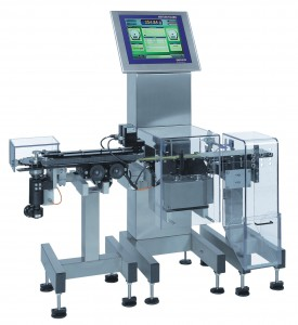 Kleine Produkte bei hohem Durchsatz zu wiegen ist die Domäne der XS1 Waage. Bild: Mettler-Toledo Garvens GmbH
