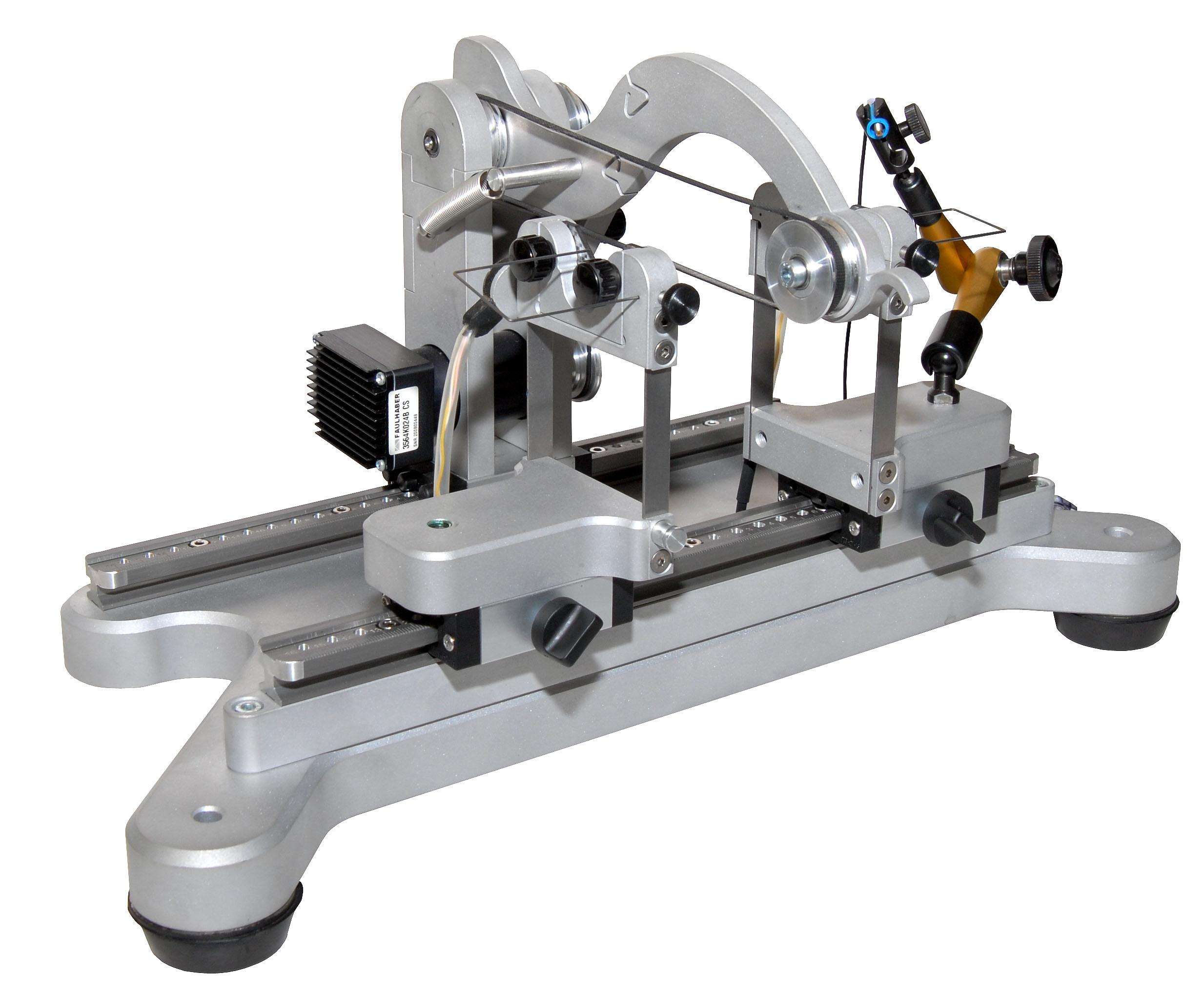 Für fast alle kleinen Messobjekte einzurichten: Horizontalauswuchtmaschine HM5. Bild: Micro Präzision Marx