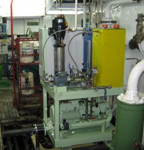 Der CD92 Mycronizer ist ein nach Lloyd's Register zertifiziertes System am Markt, mit dem sich bei Dieselmotoren und Kraftwerken der Stickoxid-Anteil in den Abgasen deutlich reduzieren lässt. Bild: Omron