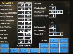 Prozessrelevante Daten können für den Zeitraum der gesamten Fahrt im Touchdisplay gespeichert und übersichtlich dargestellt werden. Bild: Omron