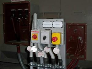 Bild 5: Vor-Ort- und Steuerschalter finden sich so an jedem Antrieb und Motor.