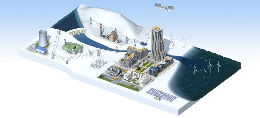 Ein Smart Grid braucht vor allem eines: Smart Components (Bild: Alstom)