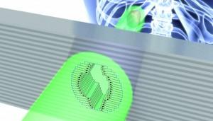 Bild 4: Die Lamellen werden einzeln durch kompakte Antriebe verstellt, um eine bestimmte Form vorzugeben und unerwünschte Randeffekte der Beleuchtung bzw. Bestrahlung auszublenden (Foto: PI)