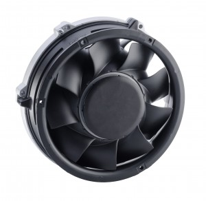 Bild 1 Der neue Hochleistungslüfter hat höhere Förderraten bei deutlich geringerem Betriebsgeräusch