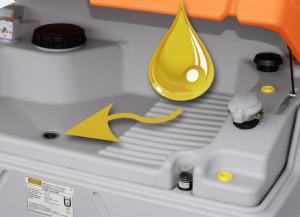 Altöl und ölige Teile sauber lagern, der Altöl-Cube macht's möglich Bild: CEMO