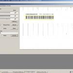 Auswertung des Barcodes (Kamera 2)