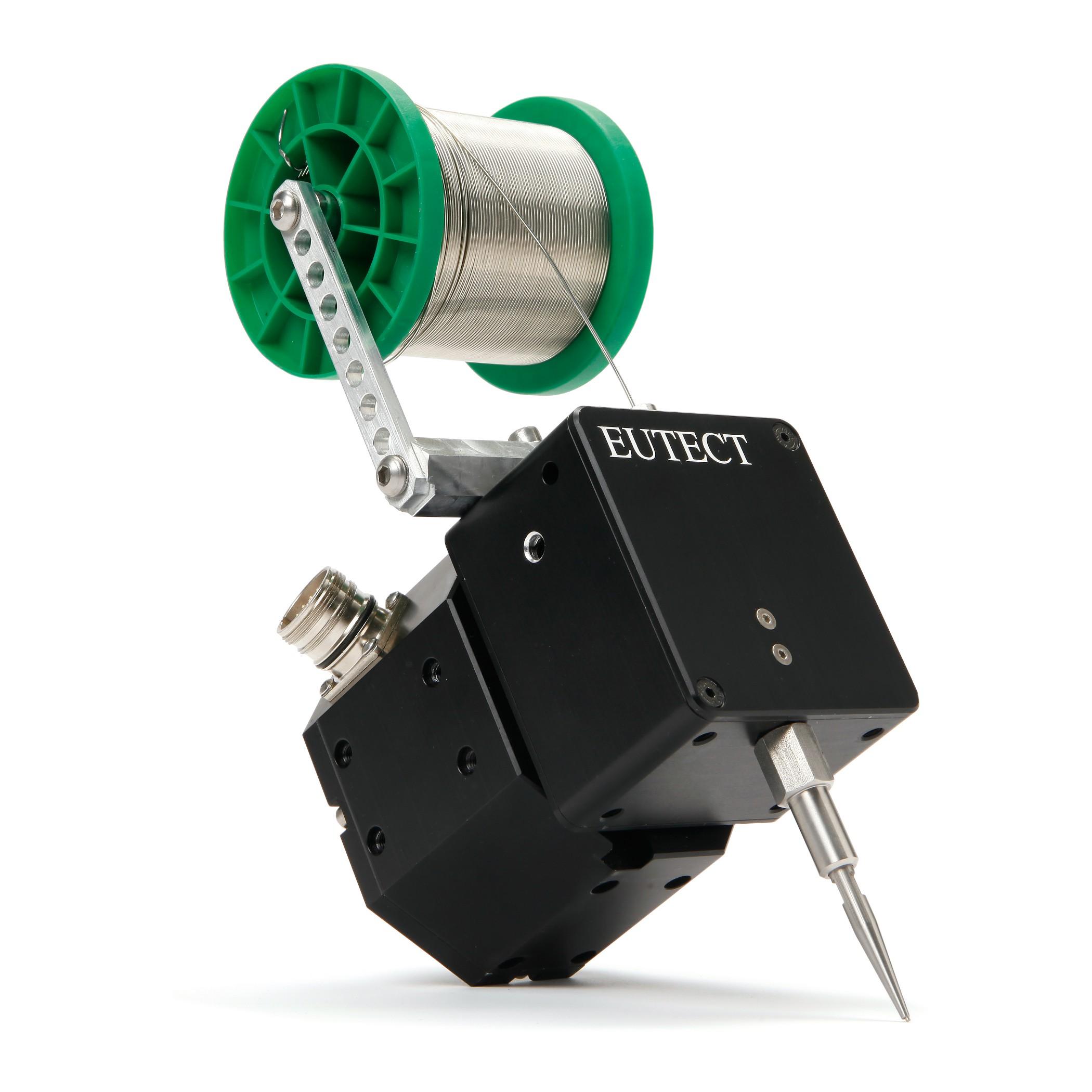 Kompaktes Drahtvorschubmodul für Löt- und Schweißprozesse Bild: Eutect