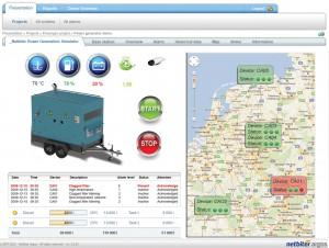 Mit der Funktion GPS-Tracking können z.B. Alarme übersichtlich in einer Karte dargestellt werden. Das erleichtert das Instandhaltungsmanagement. Bild: HMS