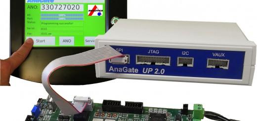 Der AnaGate Universal Programmer eignet sich für den 24-Stunden-Einsatz in der Fertigung ebenso wie für Testaufbauten im Entwicklungslabor. Bild: Analytica GmbH