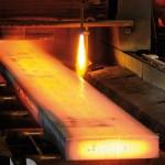 Laser Surface Velocimeter (LSV) erzielen selbst bei glühendem Stahl zuverlässige Messergebnisse. Bild: Polytec