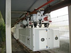 Die Einschienenhängebahn arbeitet mit Umrichtern im Master/Slave-Betrieb besonders ruhig und wirtschaftlich Bild: SMT Scharf GmbH