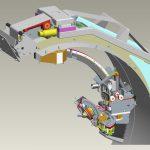 Für gute Zugänglichkeit arbeitet der Roboterarm mit sieben Achsen. Bild: Axilum Robotix