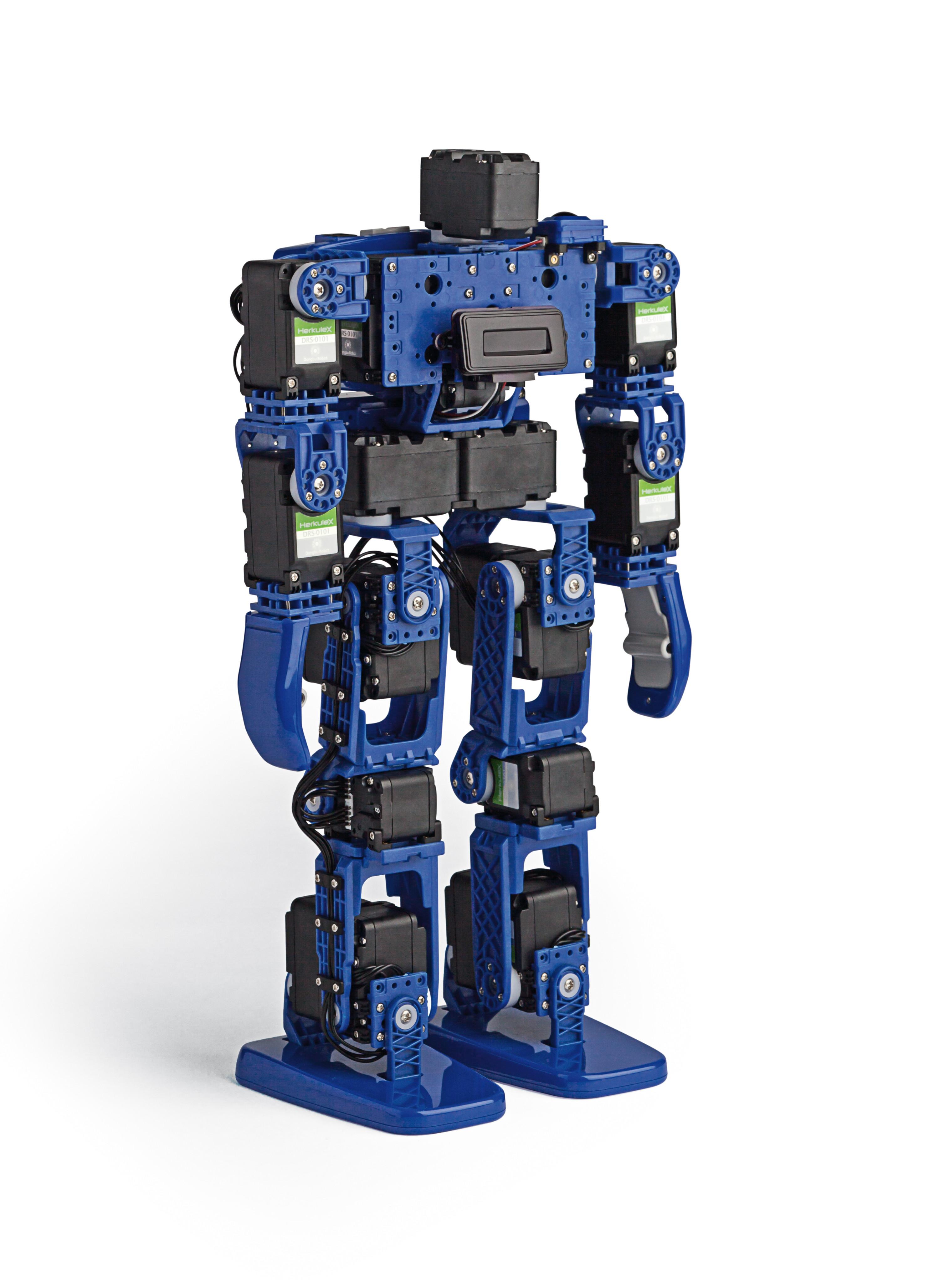 Die Roboter der Baureihe Hovis Lite erfreuen sich bei Bastlern großer Beliebtheit Bild: Dongbu Robot