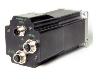 QuickStep Schrittmotoren mit integrierter Ansteuerelektronik im Schnitt Bild: JVL