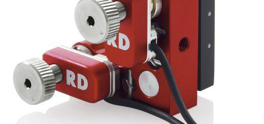 PiezoMike Linearaktoren ersetzen manuelle Mikrometerschrauben in einer Kippspiegelmechanik Bild: Radiant Dyes