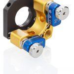Die Spiegelhalter werden statt mit Mikrometerschrauben jetzt auch mit Piezoantrieben angeboten Bild: Liop-Tec