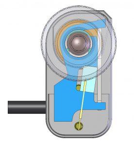 Piezobasierte Trägheitsantriebe nutzen den Stick-Slip-Effekt für feine Schritte mit wenigen Mikrometern Schrittgröße. Bild: PI