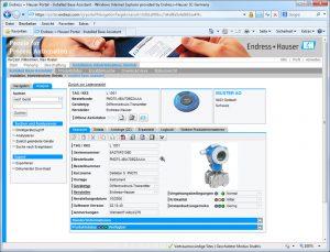 Die Suchprozedur auf Webseiten der Lieferanten ist zeitintensiv und bringt die Gefahr von Tippfehlern bei der Eingabe langer Seriennummern. Bild: Endress+Hauser