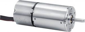Bürstenloser Gleichstrommotor mit hochauflösenden Absolut-Encoder: klein, leicht und drehmomentstark. Bild: Faulhaber / Florian Klug