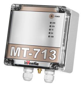 Der GSM-Datenlogger MT713 lässt sich flexibel an verschiedene Anwendungen anpassen Bild: Welotec