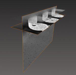 3D-Abbildung von Mikrostruktur und Fehlstellen in Lötverbindungen in der Mikroelektronik Bild: KIT