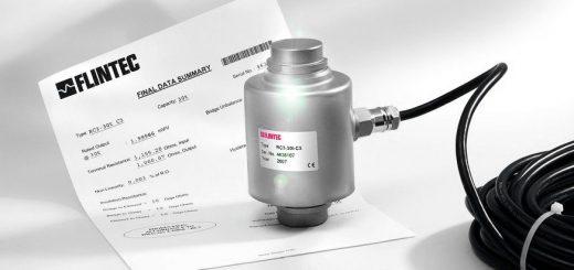 """Robust und genau: Das messtechnische """"Herz"""" der Wägemodule: Hermetisch dicht verschweißte Druckkraft-Wägezelle aus Edelstahl. Foto: Flintec"""