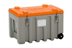 In der CEMbox sind kleinere Transportgüter sicher aufgehoben und gleichzeitig vor Umwelteinflüssen geschützt. Bild: CEMO