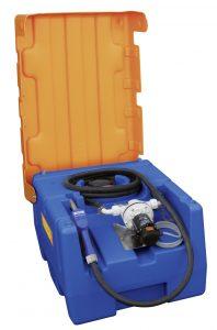 Blue-Mobil Easy erlaubt 125 bis 430 l AdBlue schnell und vor allem sicher zu verladen. Bild: CEMO
