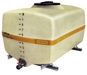 Kofferfässer von 300 bis 15.500l nutzen die Ladefläche besser aus. Bild: CEMO
