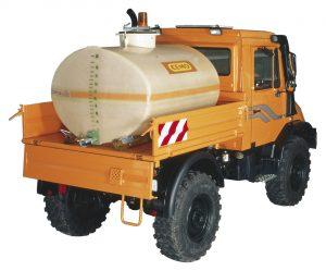 Fahrzeugspezifische Fässer machen den sicheren Tankwechsel noch einfacher. Bild: CEMO
