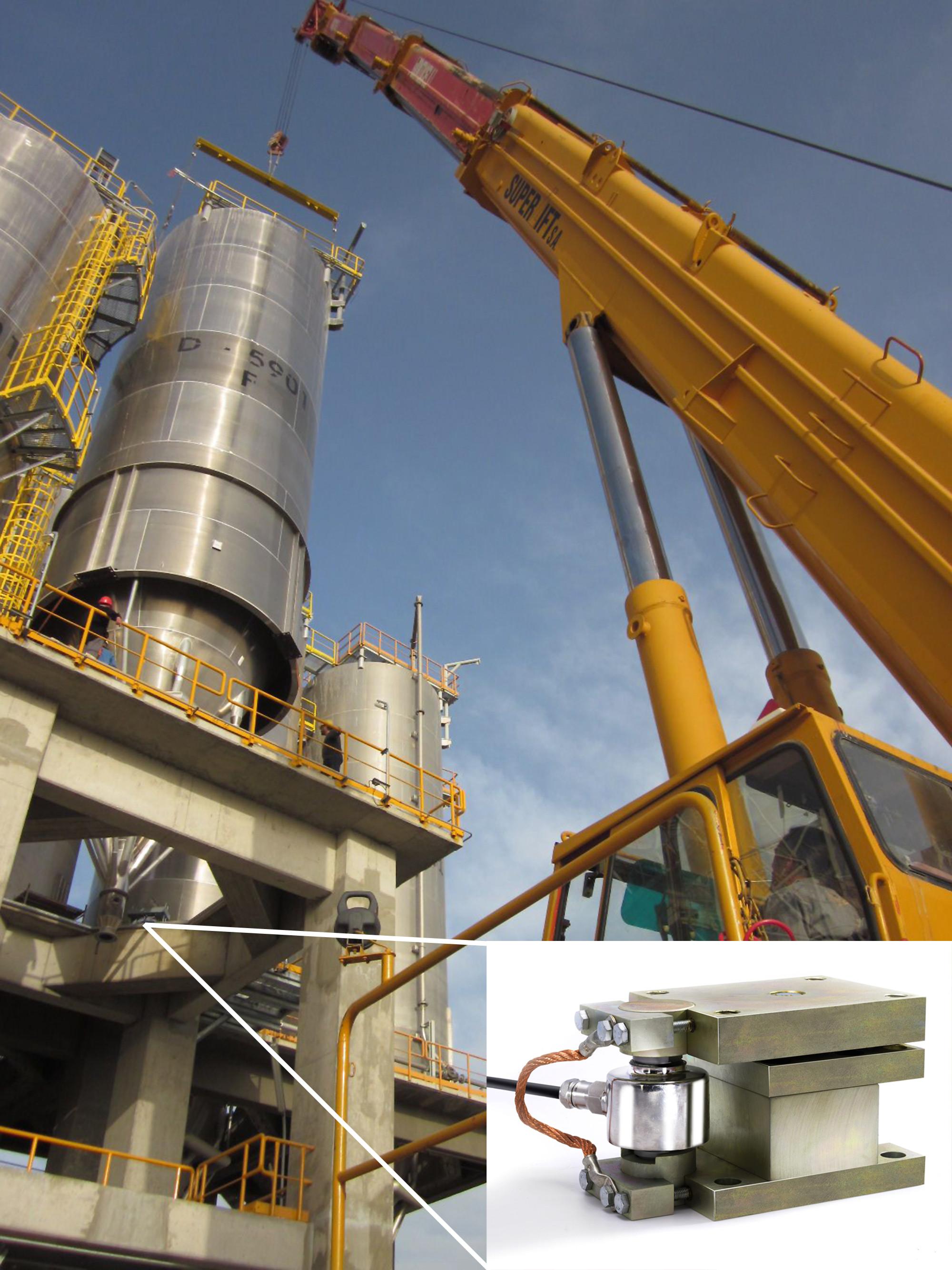 Zertifizierung für tragende Teile im Stahlbau: Wägemodul mit CE-Kennzeichnung gemäß EN 1090 Bild: Flintec / P+W Metallbau GmbH & Co.KG