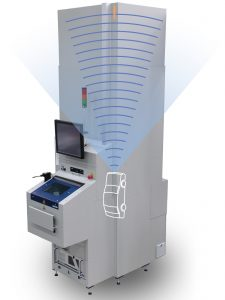 Die abgeschirmte Prüfkammer bietet Raum für eine Vielzahl von Testmethoden. Bild: ENGMATEC