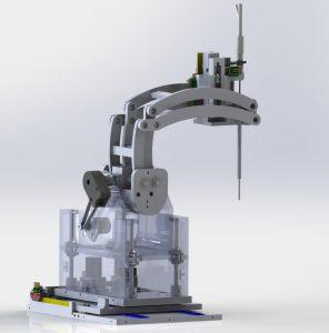 Der MRT-Operationsroboter verspricht die chirurgischen Behandlungsmöglichkeiten zu revolutionieren. Bild: Worcester Polytechnic Institute