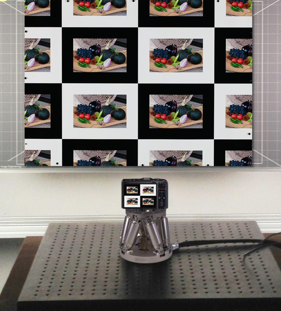 Die erforderlichen Tests der zertifizierten Hexapoden entsprechend den CIPA-Vorgaben führte die Firma Image Engineering in Deutschland durch. Bild: Image Engineering