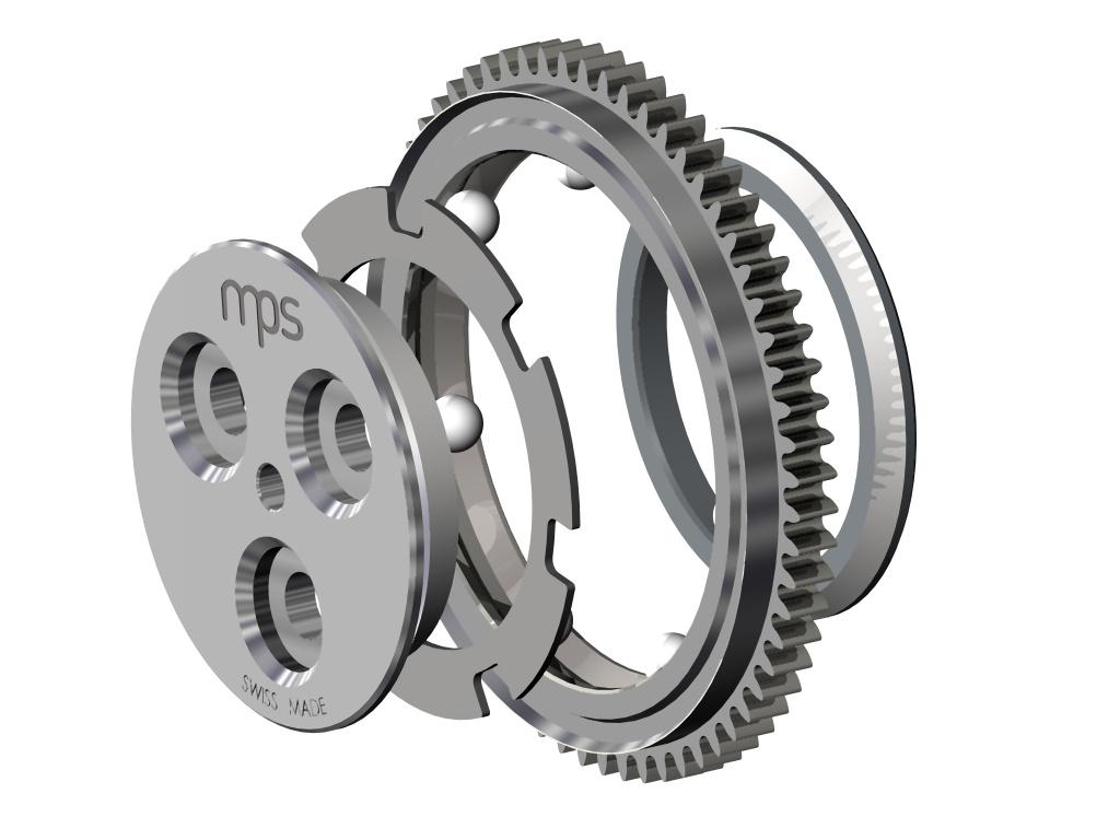 Das Kugellager wird außer in der Uhrenindustrie auch in vielen anderen Präzisionsanwendungen eingesetzt. Bild: MPS