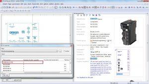 Kaufmännische Daten wie Bestellnummern etc. und automatische Stücklisten werden automatisch erstellt. Bild: EPLAN