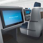 Die Bordunterhaltungssysteme der Business Class – individuelle, ausfahrbare Bildschirme – werden zunehmend motorisiert, und etwas Ähnliches könnte bald auch den Weg in die Economy Class finden. Bild: FAULHABER