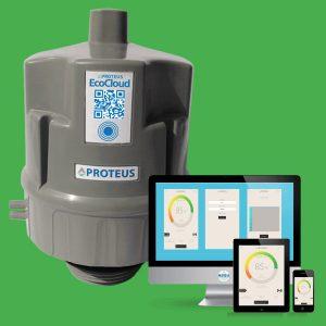 Füllstandsmessung per Ultraschall auch über große Distanzen dank Handynetzanbindung. Bild: iNNO-Tec