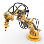 Auch für Roboter sind die kompakten Antriebe mit ihrem ausgesprochen guten Leistungsgewicht geeignet. Bild: ebm-papst