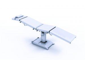 Zuverlässigkeit und EMV-Schutz sind Pflicht in der Medizintechnik, z.B. bei einer kraftvollen OP-Tischverstellung. Bild: ebm-papst