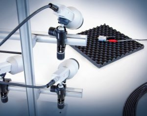 Multisensor-Anordnung ermöglicht es, die Amplituden- und Phasenverteilung auf der Oberfläche mit nur einer einzigen Messung zu erfassen. Bild: Polytec