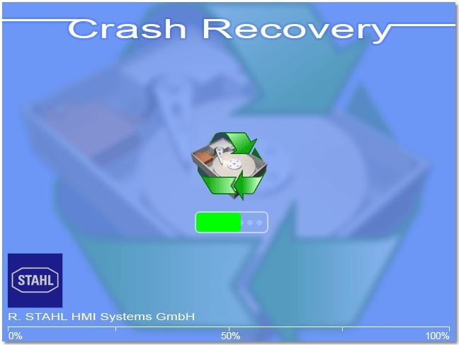 """Im Fall der Fälle kann dann ein Backup auf ein Ersatzgerät """"wiederhergestellt"""" und so viel Zeit gespart werden. Bild: R. Stahl HMI Systems GmbH"""