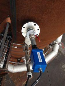 Ein Flammenwächter überwacht permanent die Farbe und Temperatur der Flamme. Bild: EET Umwelt- und Gastechnik GmbH