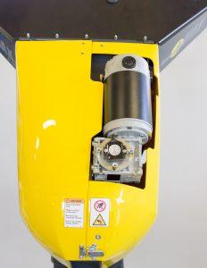 Sensor und Positionsgeber sind als getrennte Komponenten konzipiert. Das erleichtert die Integration in die Anwendung. Bild: Novotechnik