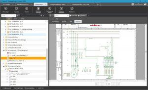 Das Elektrotechnik-Modul erhöht Qualität, Zuverlässigkeit und Effizienz der Planung elektrotechnischer Elemente bei Projekten der Prozessautomatisierung. Bild: Rösberg