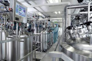 Anlagen der chemischen Verfahrenstechnik erfordern einen zertifizierten Explosionsschutz. Bild: FAULHABER