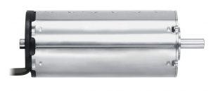 Bürstenloser DC-Servomotor mit 68 mm Länge, 32 mm Durchmesser und einem Drehmoment von 96 mNm. Basierend auf solchen Standardprodukten lassen sich auch kundenspezifische Lösungen in kurzer Zeit realisierten. Bild: FAULHABER