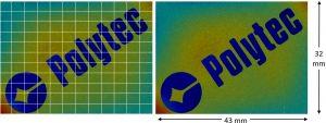 Selbst größere Oberflächen sind ohne die Notwendigkeit von Stitching (Zusammenfügen von Messfeldern) mit der gleichen vertikalen Auflösung erfassbar. Bild: Polytec